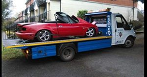 Scrap cars removed